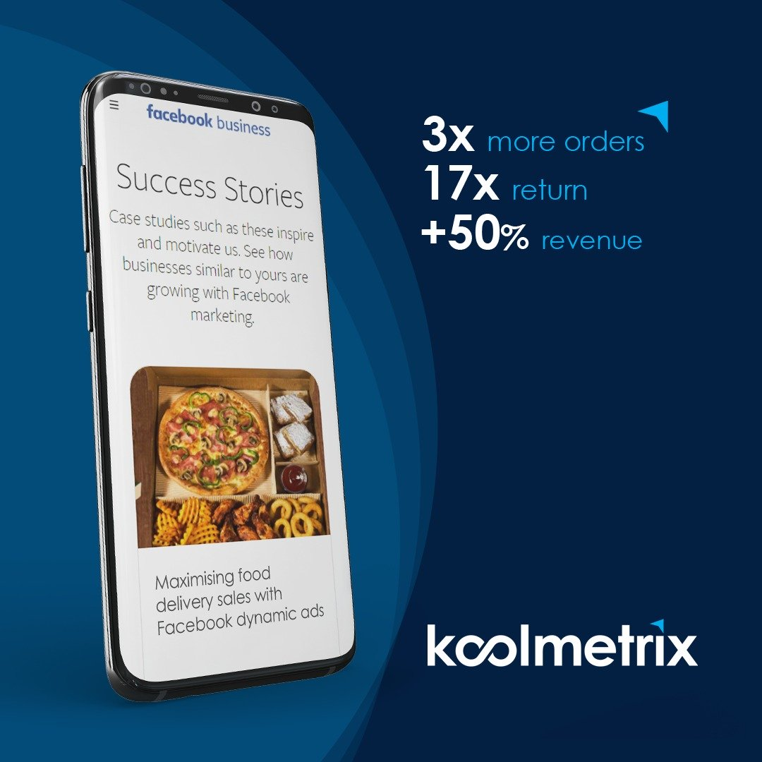 Maximising food delivery sales with Facebook dynamic ads – An Official Facebook Success Story